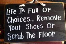 Blackboard {kitchen sayings}