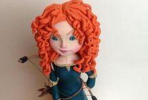 Figurine Cakes / fairy tales figurines, girls and boys figurines cakes