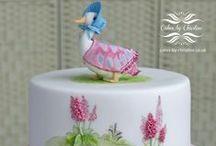 Christening Cakes / Cakes made for christening, christening cakes for girls and boys.