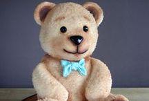Teddy Bear Cakes / Cakes with teddy bears, teddy bears cakes.