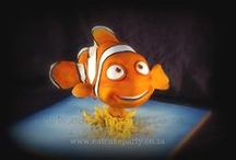 Finding Nemo Cakes / Cakes themed by popular Finding Nemo movie.