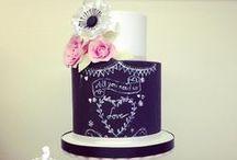 Chalkboard Cakes / chalkboard cakes