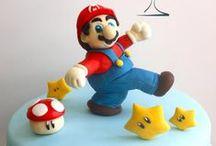 Super Mario Bros Cakes