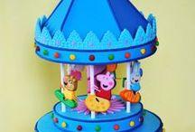Carousel Cakes / Carousels, carousel cakes