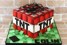 Minecraft Cakes / Minecraft cakes