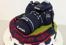 Camera Cakes, Cake Topers and Cupcakes / Camera Cakes, Cake Topers and Cupcakes