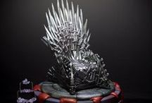 Game of Thrones Cakes / Cakes, cupcakes and cake topers based on Game of Thrones series