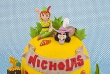 Peter Pan Cakes, Cupcakes and Cake Topers / Peter Pan Cakes, Cookies, Cupcakes and Cake Topers
