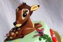 Bambi Cakes / Cakes with bambi, bambi themed cakes.