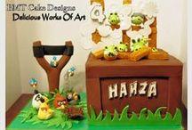 Angry Birds Cakes / Angry Birds Cakes, cupcakes, cake pops