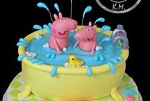 Peppa Pig Cakes / Peppa Pig Cakes