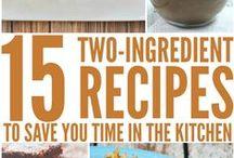 Food {2 ingredient recipes}