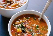 Food {soup 'n stew} / Comfort food.  Light or Hearty.