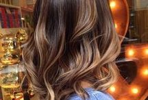 Morena Iluminada / Inspirações para as morenas Morena Iluminada, ombré hair dourado