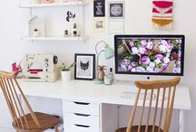 Office / Office style, office inspiration, office space, desk, work area, office decor