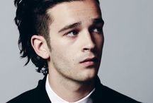 celebrity aes; matty healy. / music is for people who can't handle their own thoughts.