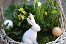Spring & Easter / Deko, Landschaft, Einrichten, Zuhause, Home, Ideen und Style im Frühling, Ostern, Osterideen, Osterdekoration, decoration, decorate your home