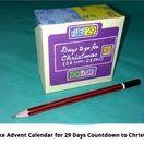 Christmas countdown calendar / DIY idea for countdown to Christmas advent calendar https://www.youtube.com/channel/UC_xMJ7EF_Vn7pDSShG1xEEA