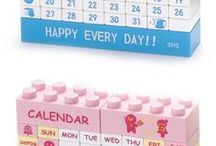 Calendar project for kids / Project for kids on how to make (DIY)  daily display desk calendar at home using cube blocks made of cardsheet https://www.youtube.com/channel/UC_xMJ7EF_Vn7pDSShG1xEEA