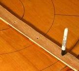 DIY crokinole board / DIY round rotating carrom board with Lazy Susan for indoor fun play  https://www.youtube.com/channel/UC_xMJ7EF_Vn7pDSShG1xEEA