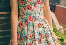vestido  v. m.