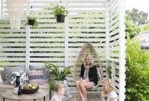 Terassit & Pergolat / Ideoita terassin rakentamiseen ja sen sisustamiseen. pergola, patio, pihakatos, kesäkeittiö --- terraces, ideas for outdoor & garden