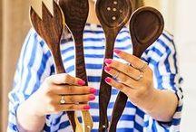 Ručne vyrobené drevené varešky, kuchynské pomôcky a doplnky od Omar Handmade / Ručne vyrobené drevené varešky, kuchynské pomôcky a doplnky od Omar Handmade www.Sashe.sk