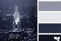 color schemes / by Kiani Nicole