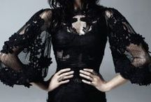 Grown-Up Goth Dresses / .
