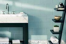 Bathroom. / Shelving, Storage, Colors, Vanity's.