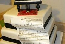 Music Themed Cakes / Various music themed cakes from the web / by Astrid Deetlefs