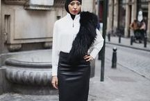Darkly Demure Wardrobe / Varying styles of modest fashion with an edge.