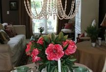 My Interior Design Projects / Interior decorating, space planning, & room makeovers by Interiors by Melanie Robinson on The Painted Chandelier blog~