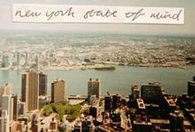 Let's hear it for New York!! / Concrete Jungle Where Dreams Are Made / by Nahid ☆