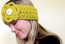 Hookin' Earwarmers & Headbands. / Free Patterns.