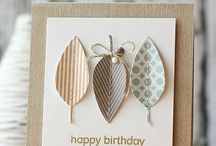 Paper Crafts - Misc Brand Cards & Projects / Cool cards/paper crafts and projects using stamps or products other than Stampin' Up. / by Cassie Zwicker