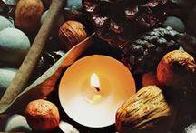 Mabon / Autumnal Exuinox September 21-24. Second harvest. AKA the Pagan thanksgiving.
