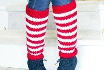 Hookin' Legwarmers & Boot Cuffs. / Free patterns