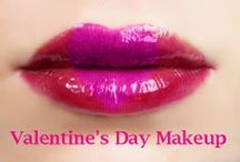 Valentine's Day Makeup Ideas / Makeup ideas for Valentine's Day.