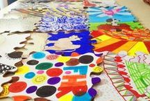 Art Therapy / Art Therapy project ideas.