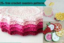 Board Of Crochet Round-Ups (Organize). / Free & Paid.