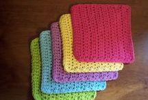 Hookin' Dishcloths. / Free patterns.