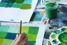 Art Teacher / Resources for art teachers. / by Sarah Wednesday