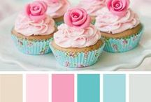 Color Schemes. / Use these for crafts, crocheting blankets, painting house/apartment walls, etc.