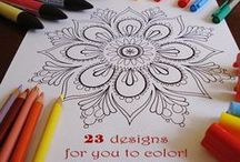 Pages To Color. / Printable coloring pages.