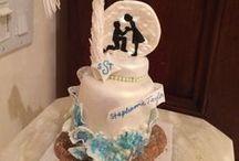Baseball cakes, wedding cakes / Ideas for baking a cake