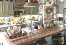 the kitchen decor & diy projects / kitchen decor ideas, kitchen renovation, kitchen ideas, kitchen remodel, kitchen decorating, kitchen layout