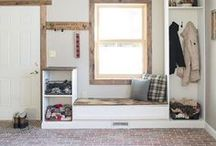 the entryway decor & diy / a collection of inspiration and diy projects for the entryway/mudroom