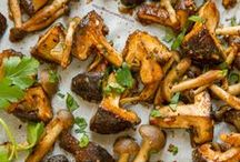 Mushrooms - Mushrooms - and more Mushrooms / Mushrooms: side dish -- main dish -- appetizer -- yummy -- Delicious -- recipes -- homemade -- blogger recipes -- everything you want in a fungus!