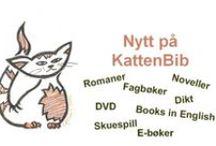 Nytt på KattenBib! / Nye bøker og filmar på biblioteket på Bergen Katedralskole.